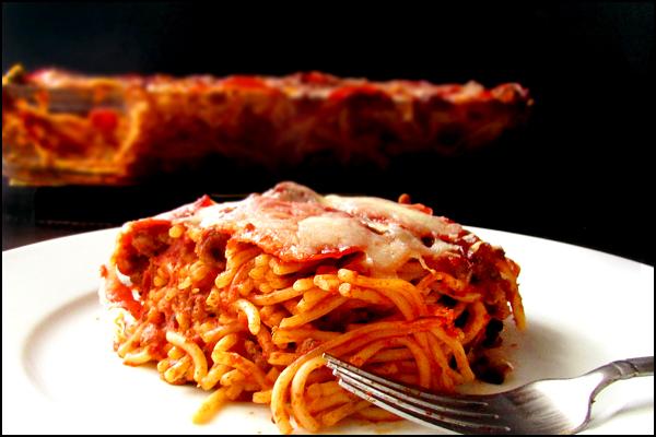Baked Spaghettis 1