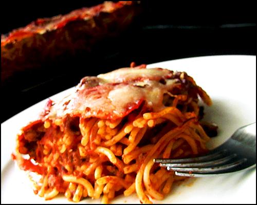 Baked Spaghettis 3