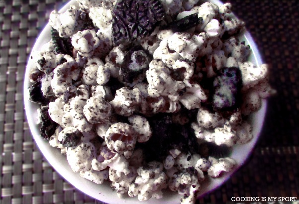 Cookies and Cream Popcorn2Tagged