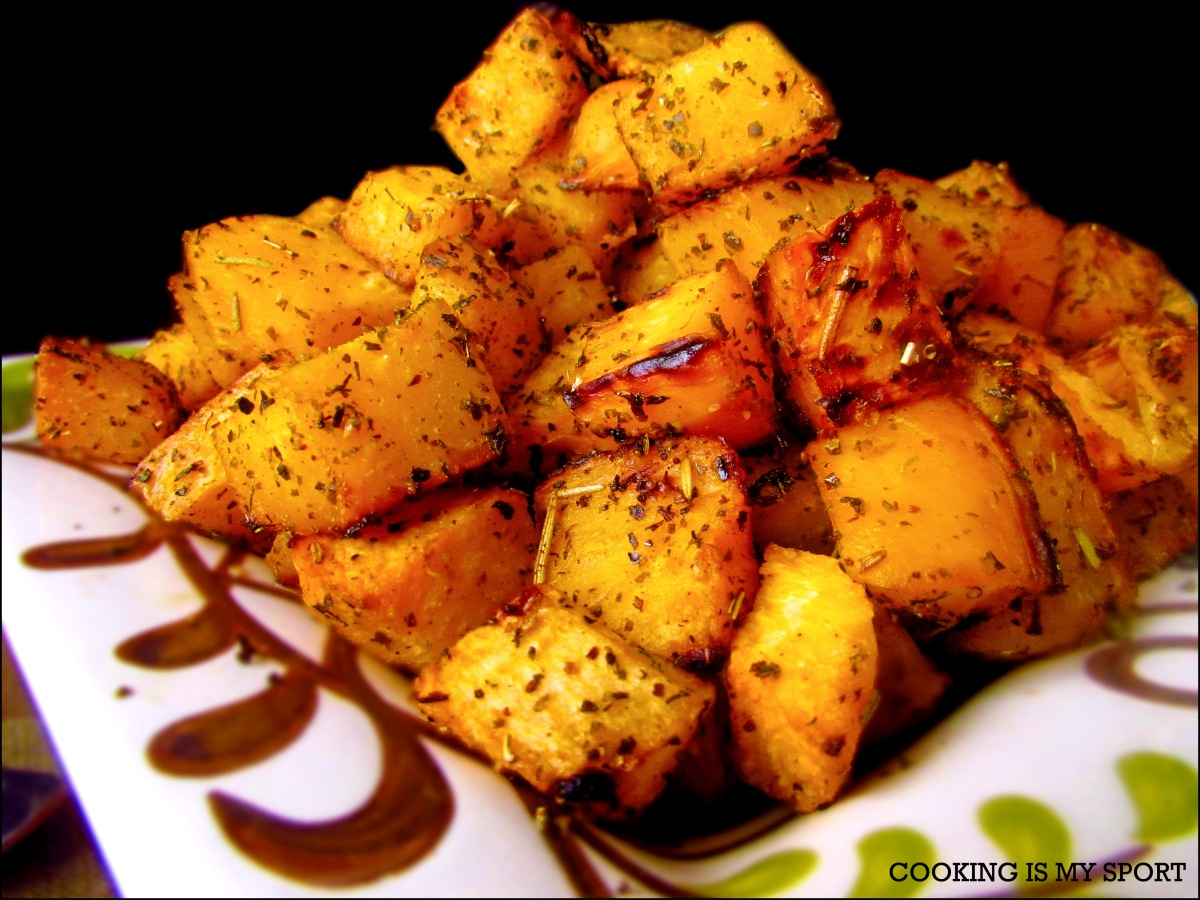 Herb Roasted Rutabaga