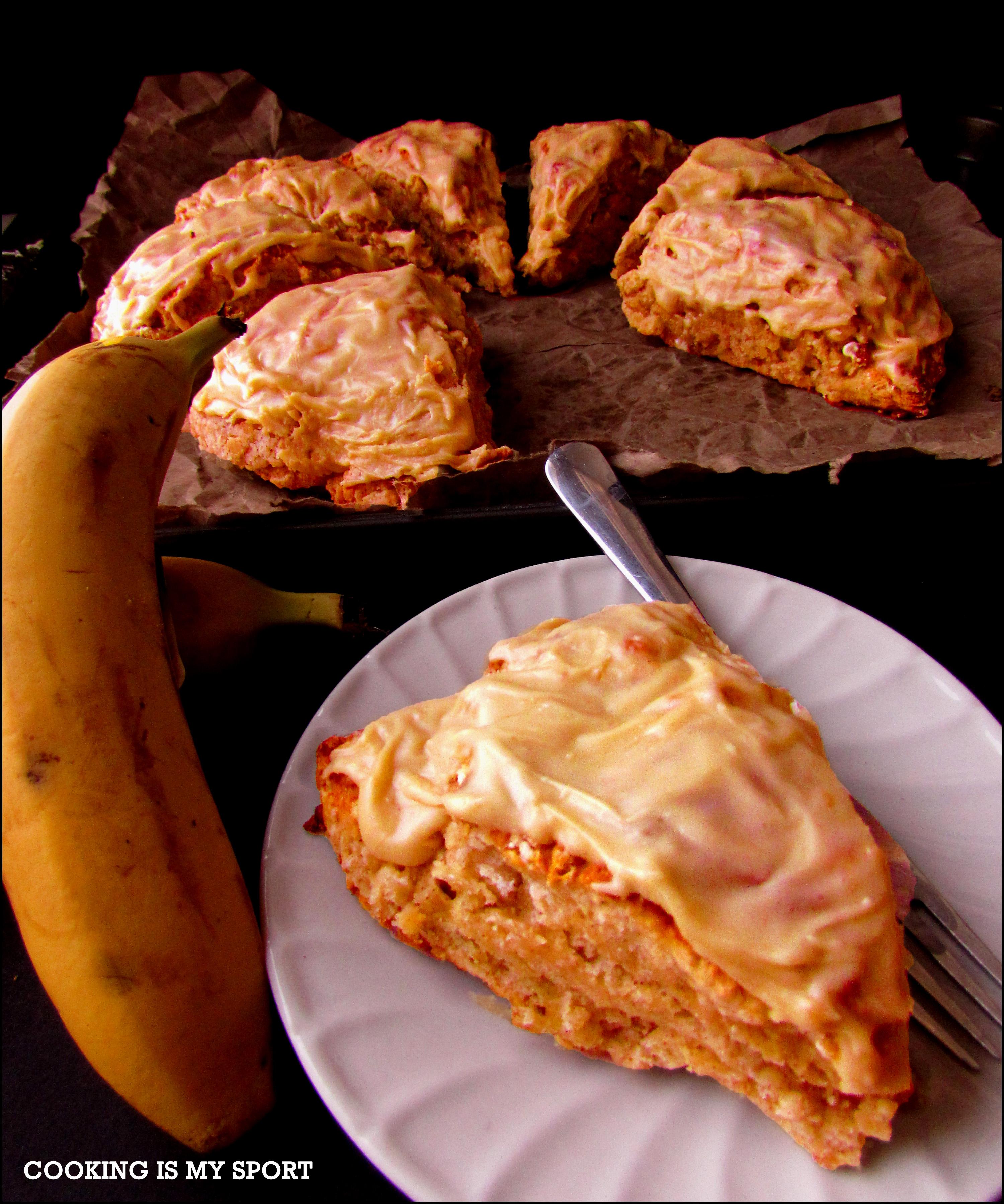 Banana Bread Scones | Cooking Is My Sport