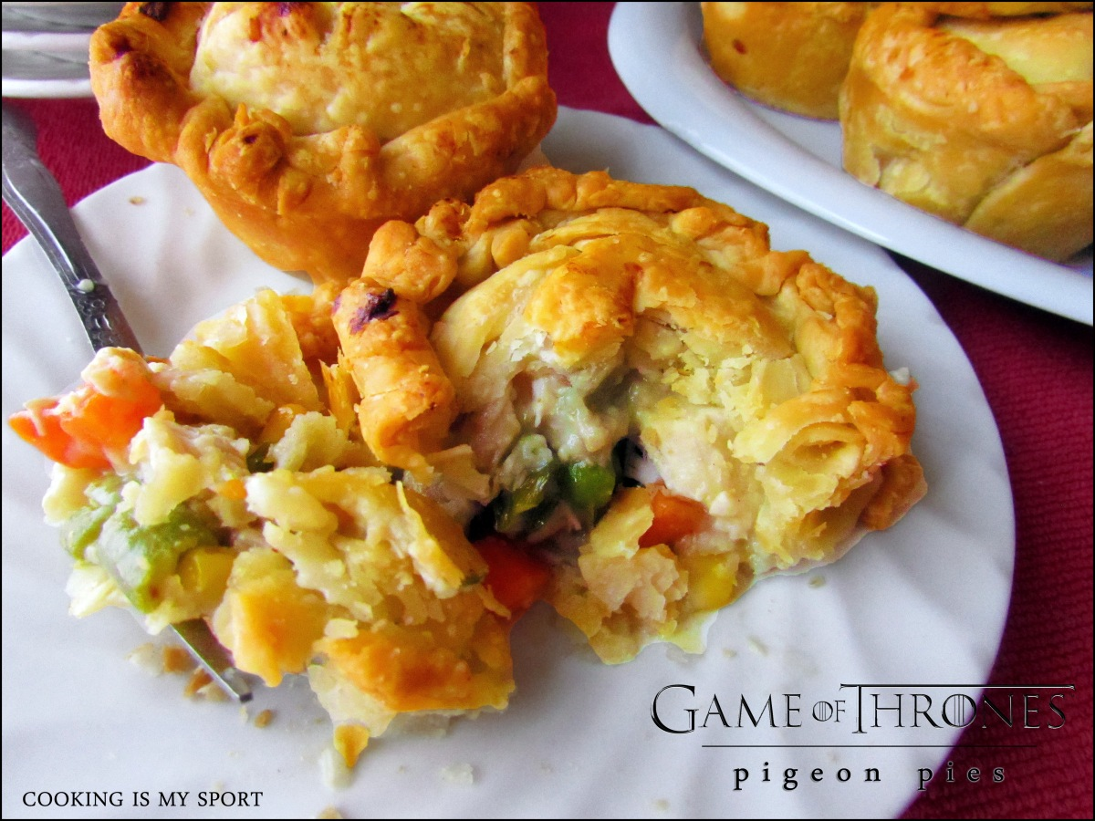 Pigeon {Chicken} Pies