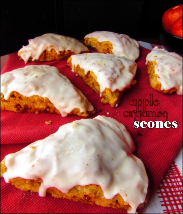 Apple Cinnamon Scones 4
