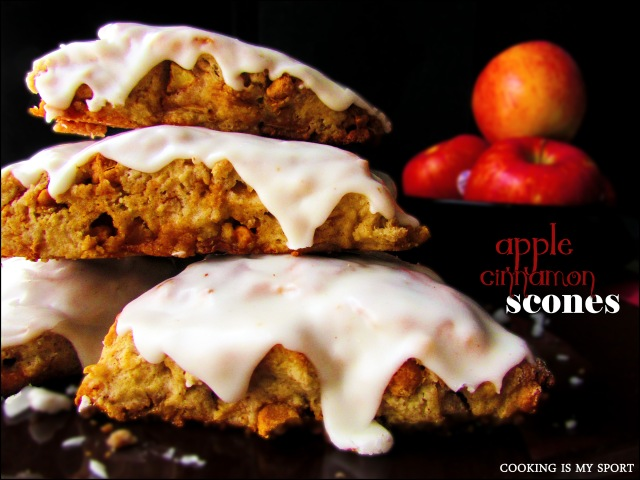 Apple Cinnamon Scones 5
