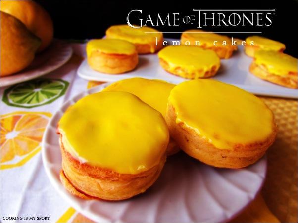 Lemon Cakes 1