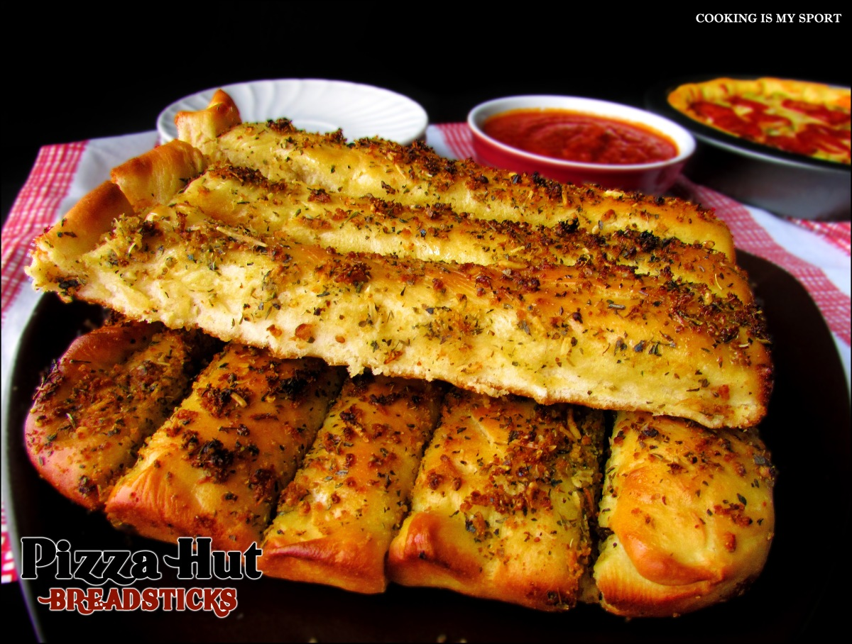 Pizza Hut Breadsticks | Cooking Is My Sport