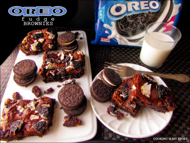 Oreo Brownies5