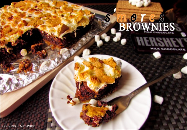Smores Brownies5