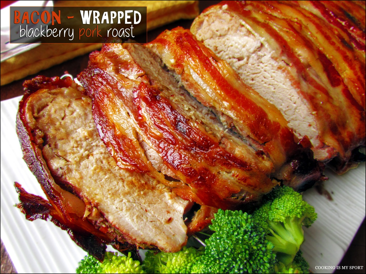 bacon wrapped corn bacon wrapped pork roast recipe bacon wrapped pork ...
