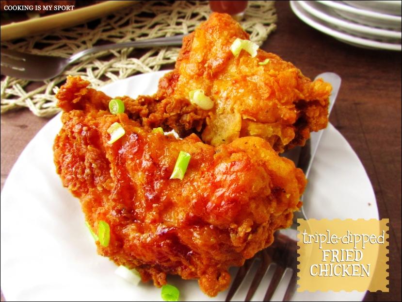 Triple Dip Fried Chicken1