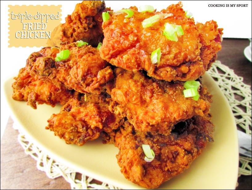 Triple Dip Fried Chicken5