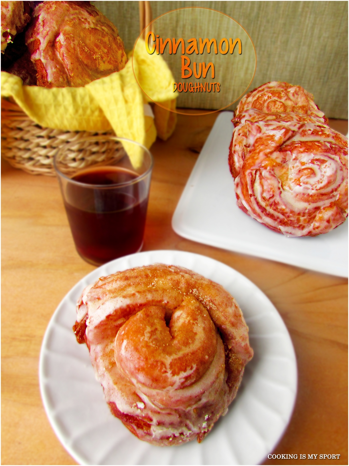 Cinnamon Bun Doughnuts3