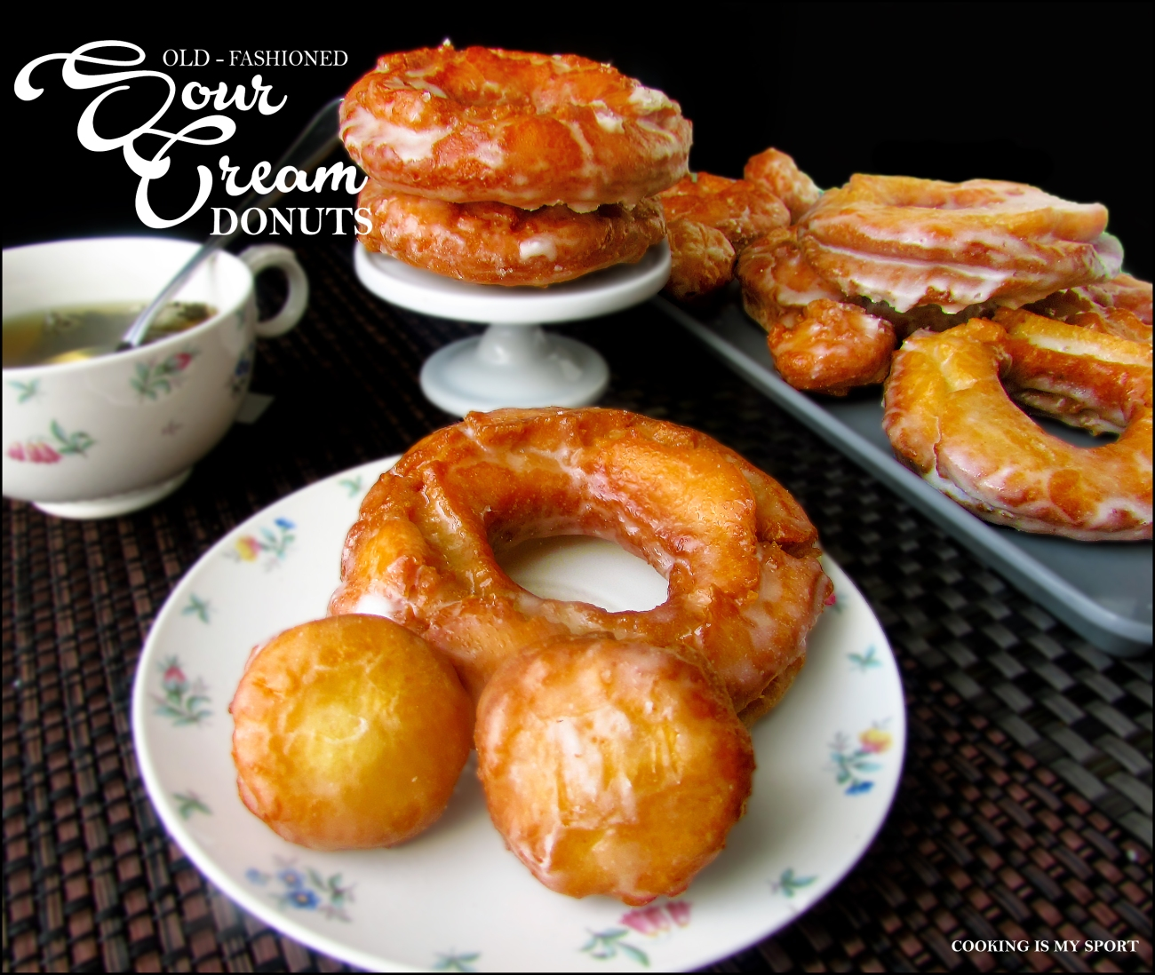 Sour Cream Donuts1