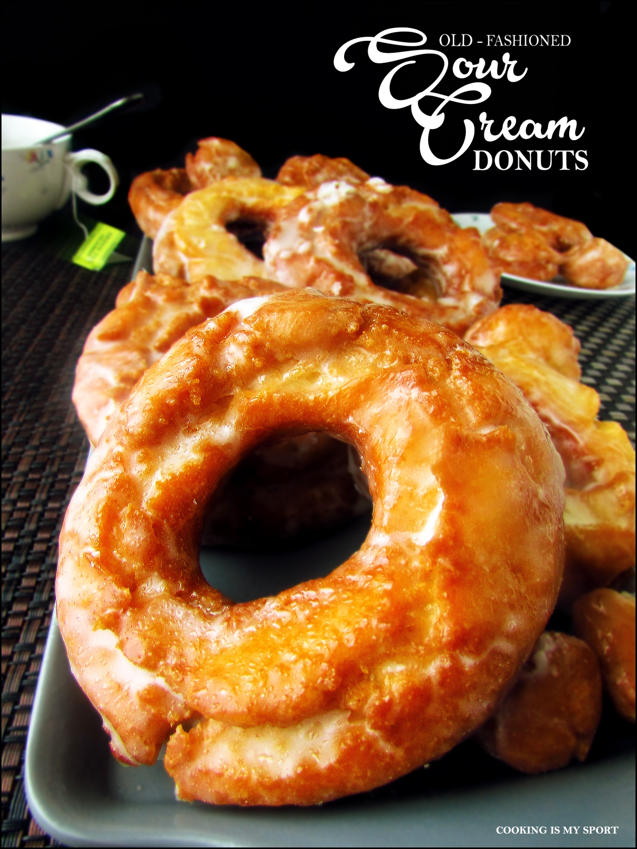 Sour Cream Donuts2