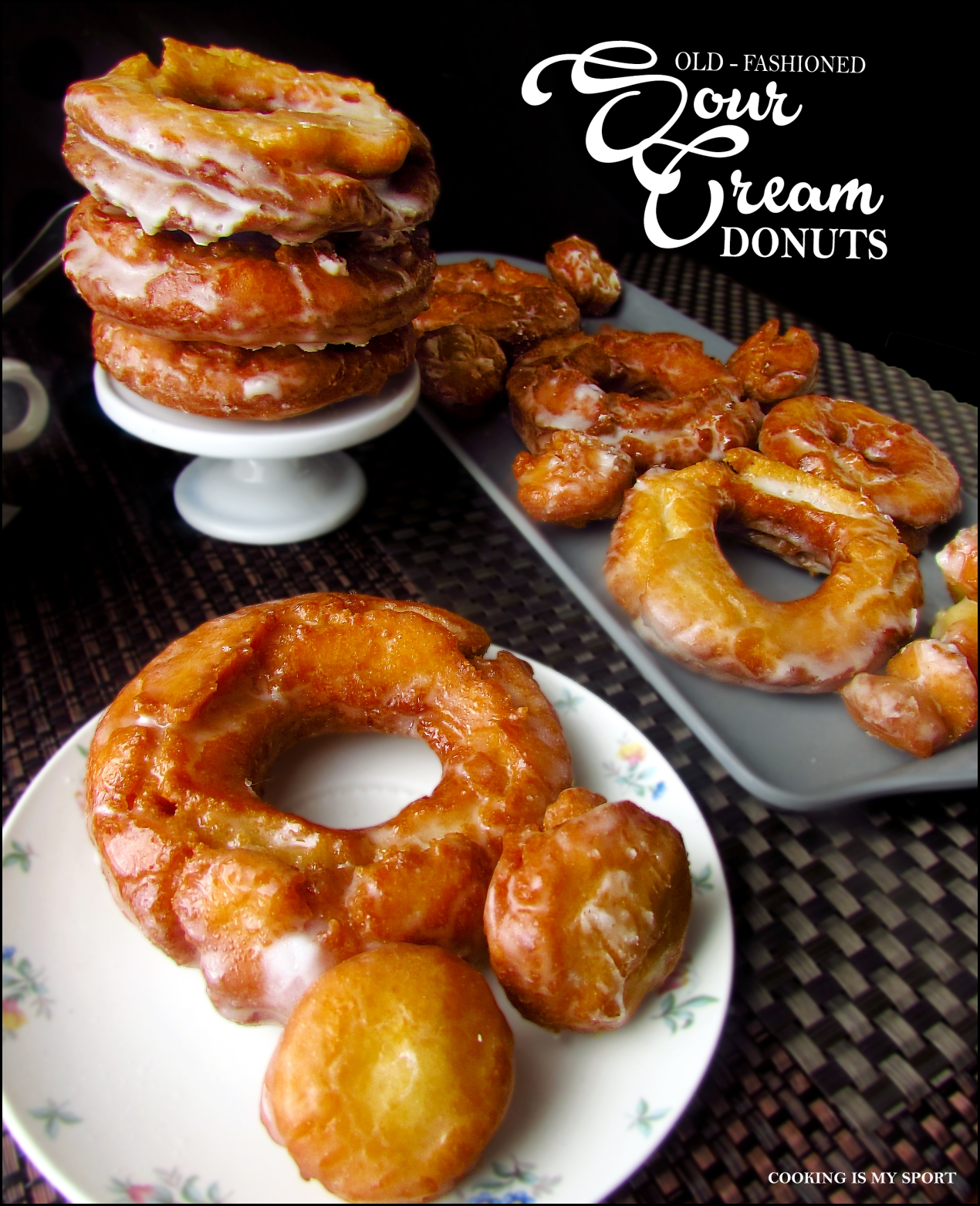 Sour Cream Donuts3