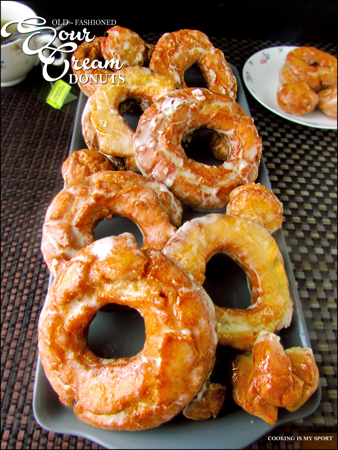 Sour Cream Donuts5