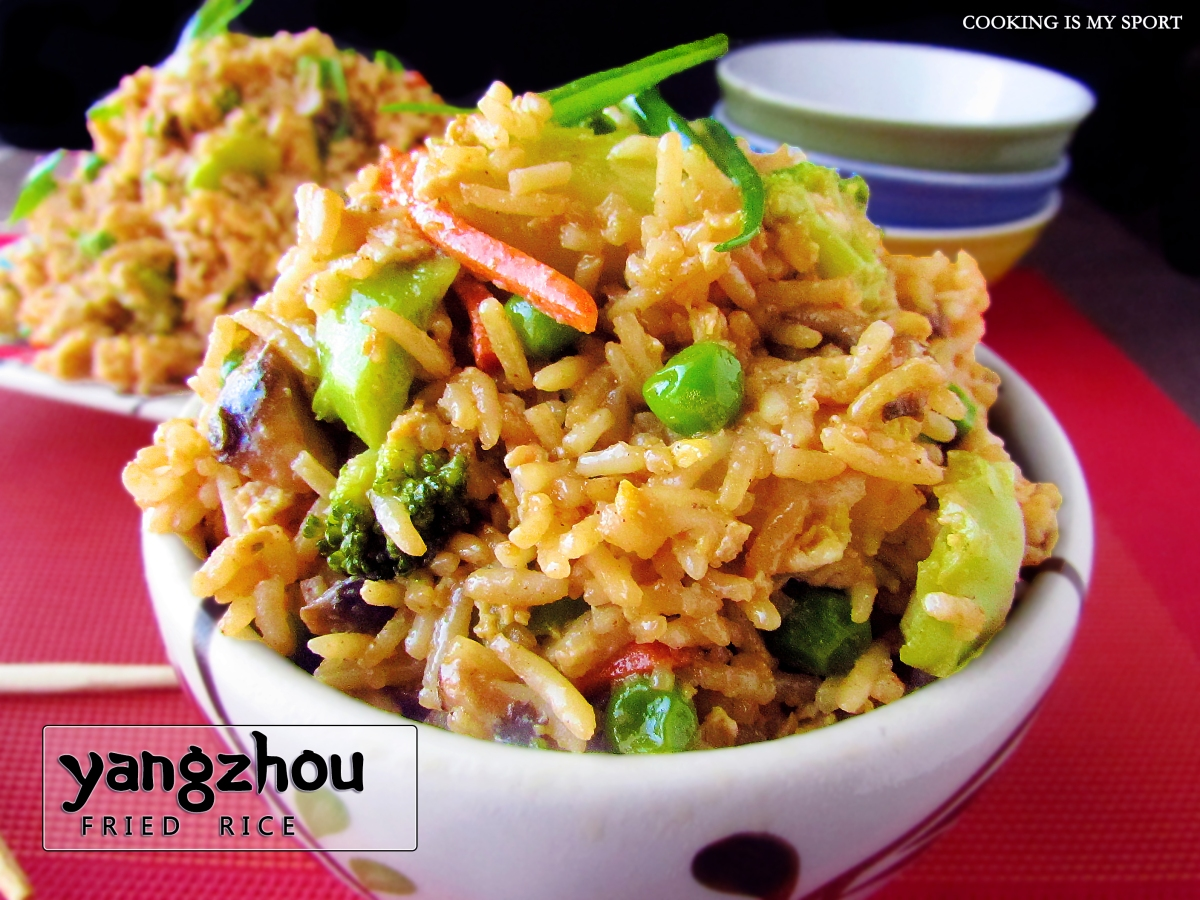 Yangzhou fried rice cooking is my sport ccuart Images