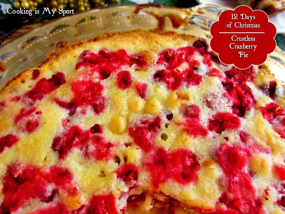Crustless Cranberry Pie3
