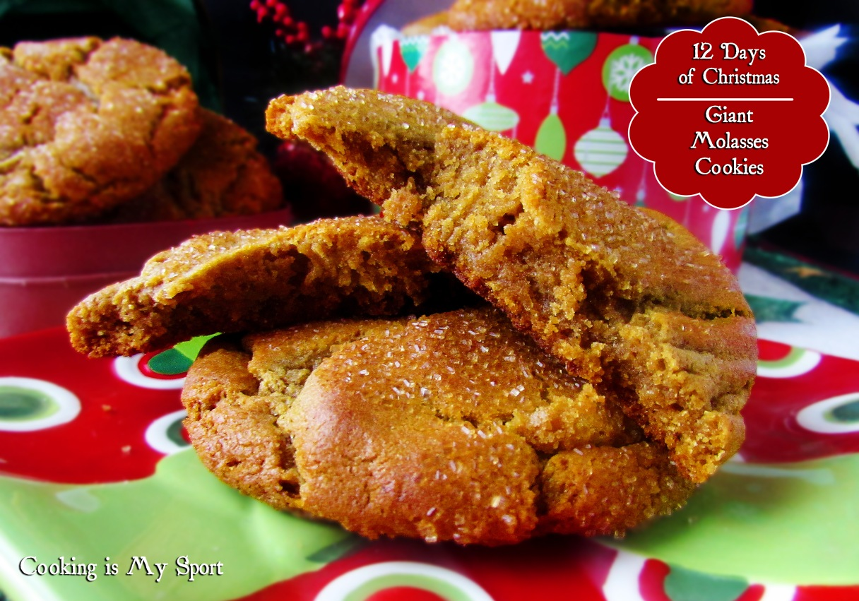 Giant Molasses Cookies1