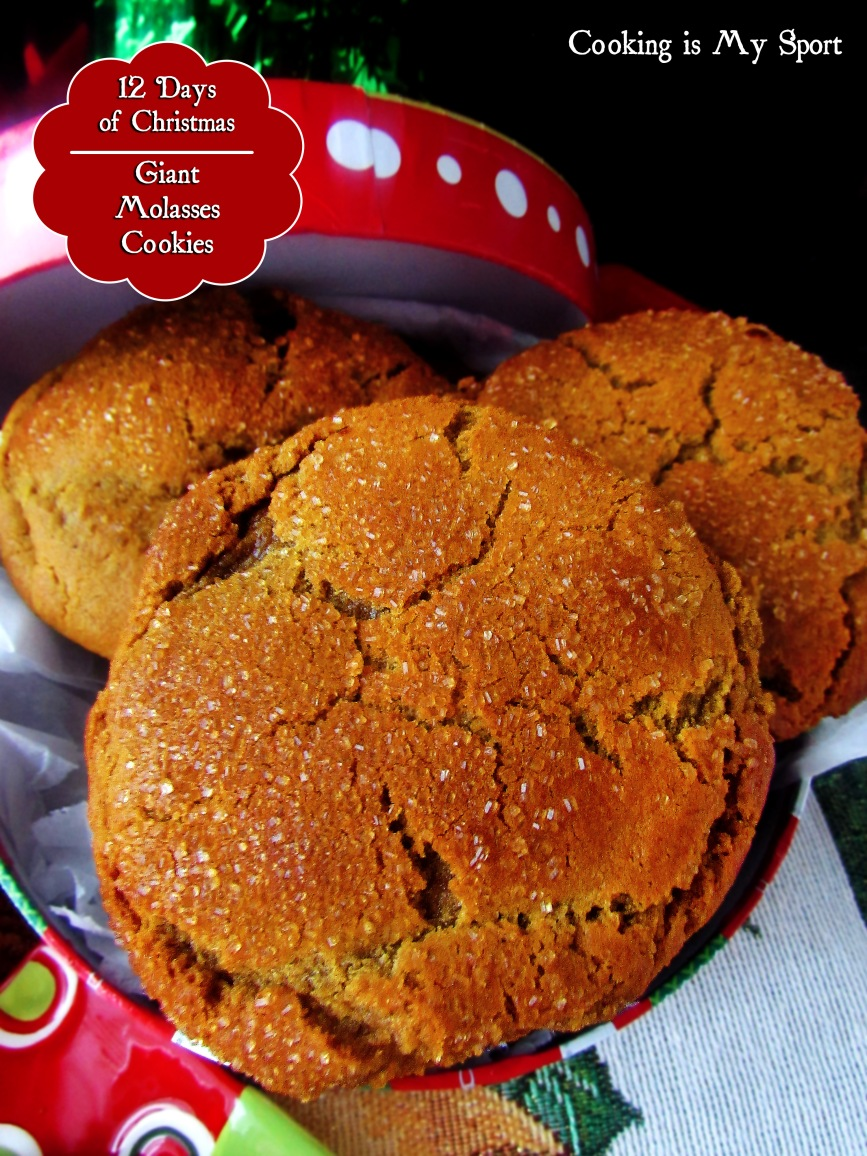 Giant Molasses Cookies2
