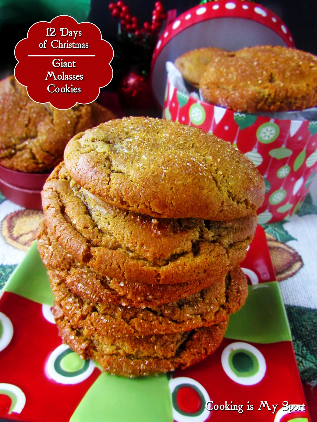 Giant Molasses Cookies4