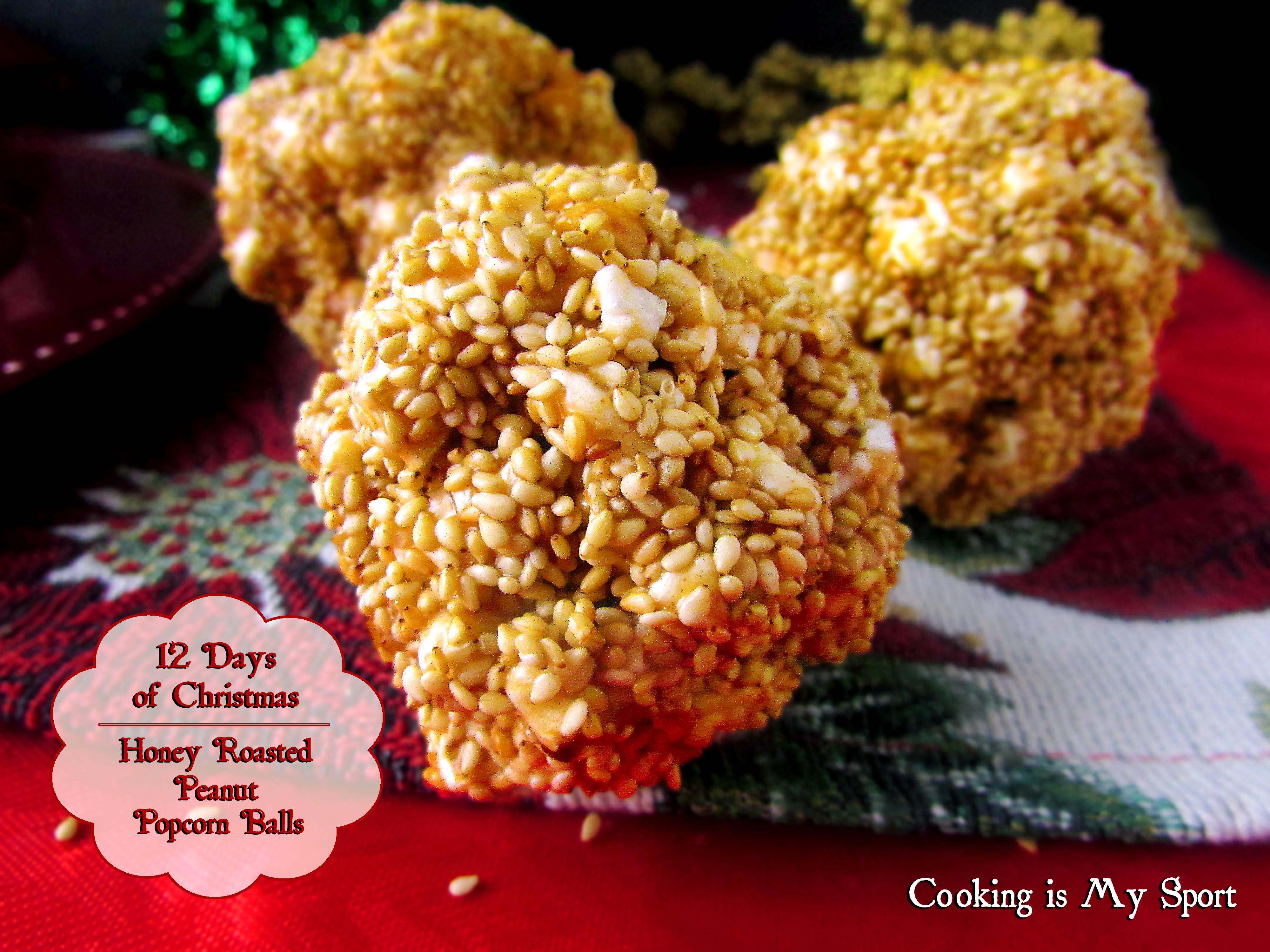 Honey Roasted Peanut Popcorn Balls2
