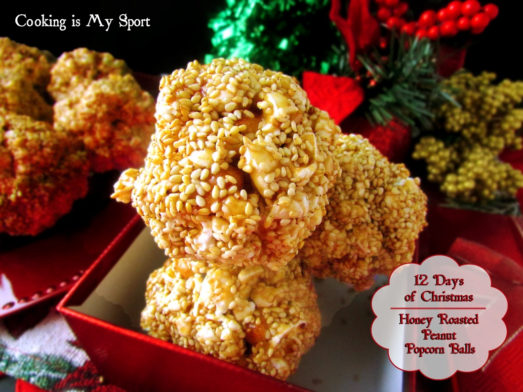 Honey Roasted Peanut Popcorn Balls3