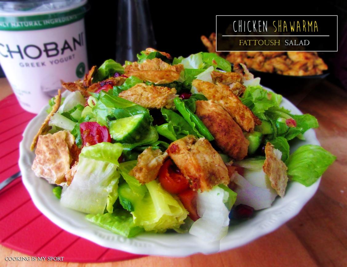 Schwarma Fattoush Salad1