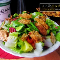 Chicken Shawarma Fattoush Salad