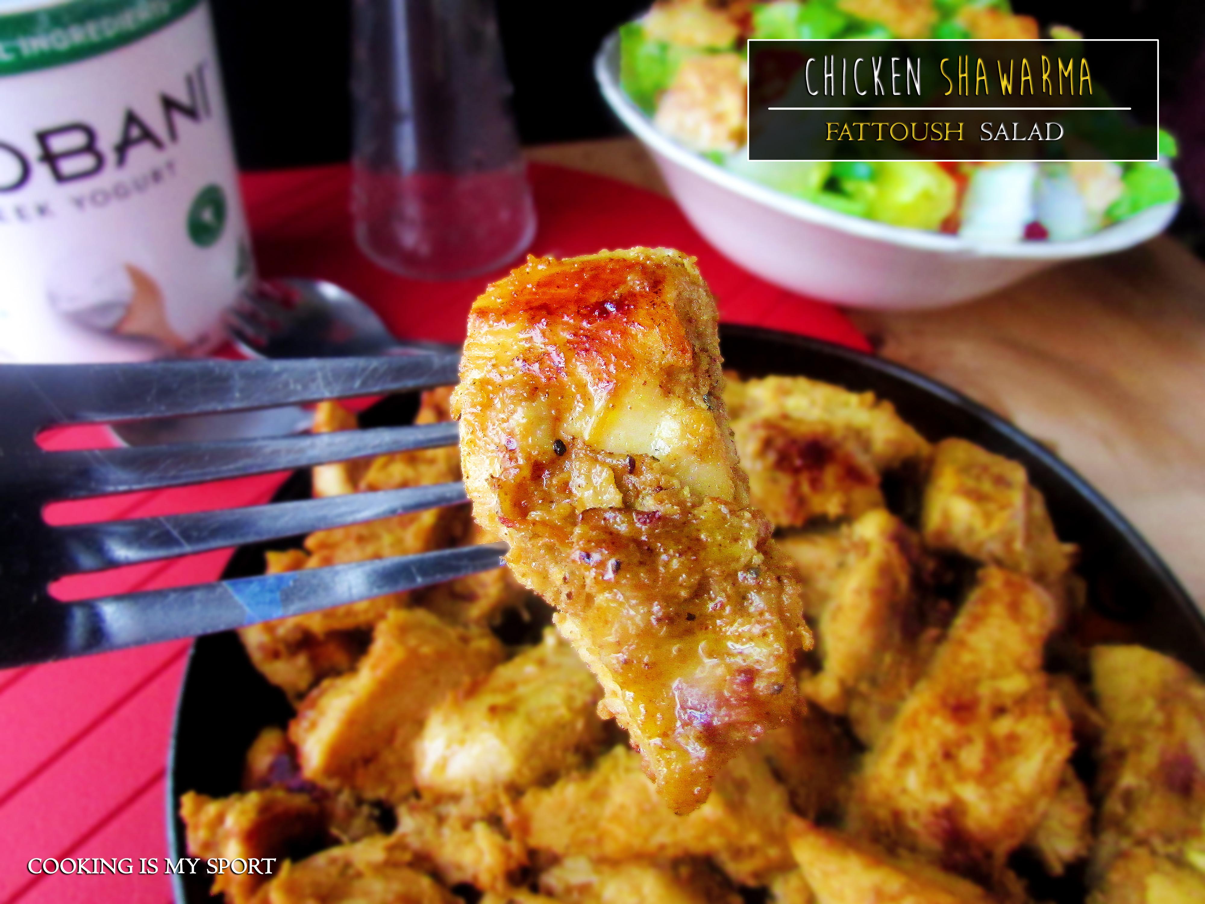 Schwarma Fattoush Salad5