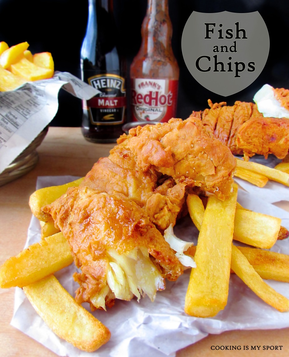 Tiny Kitchen Fish And Chips: Cooking Is My Sport