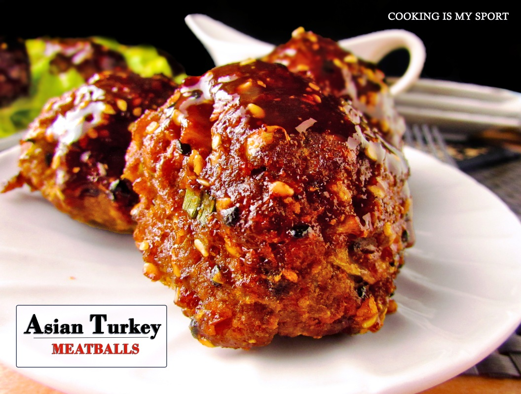 Asian Turkey Meatballs