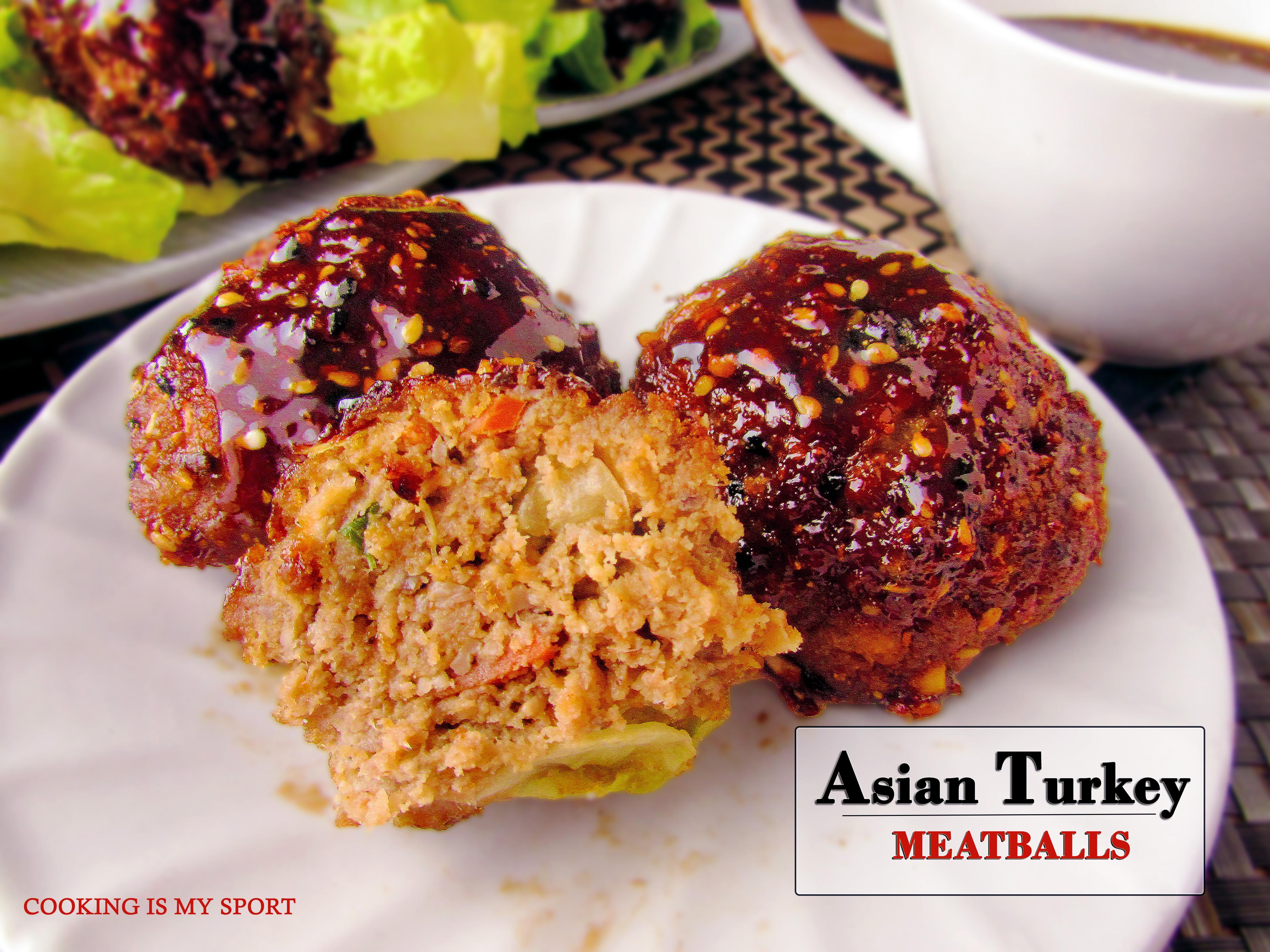 Asian Turkey Meatballs3