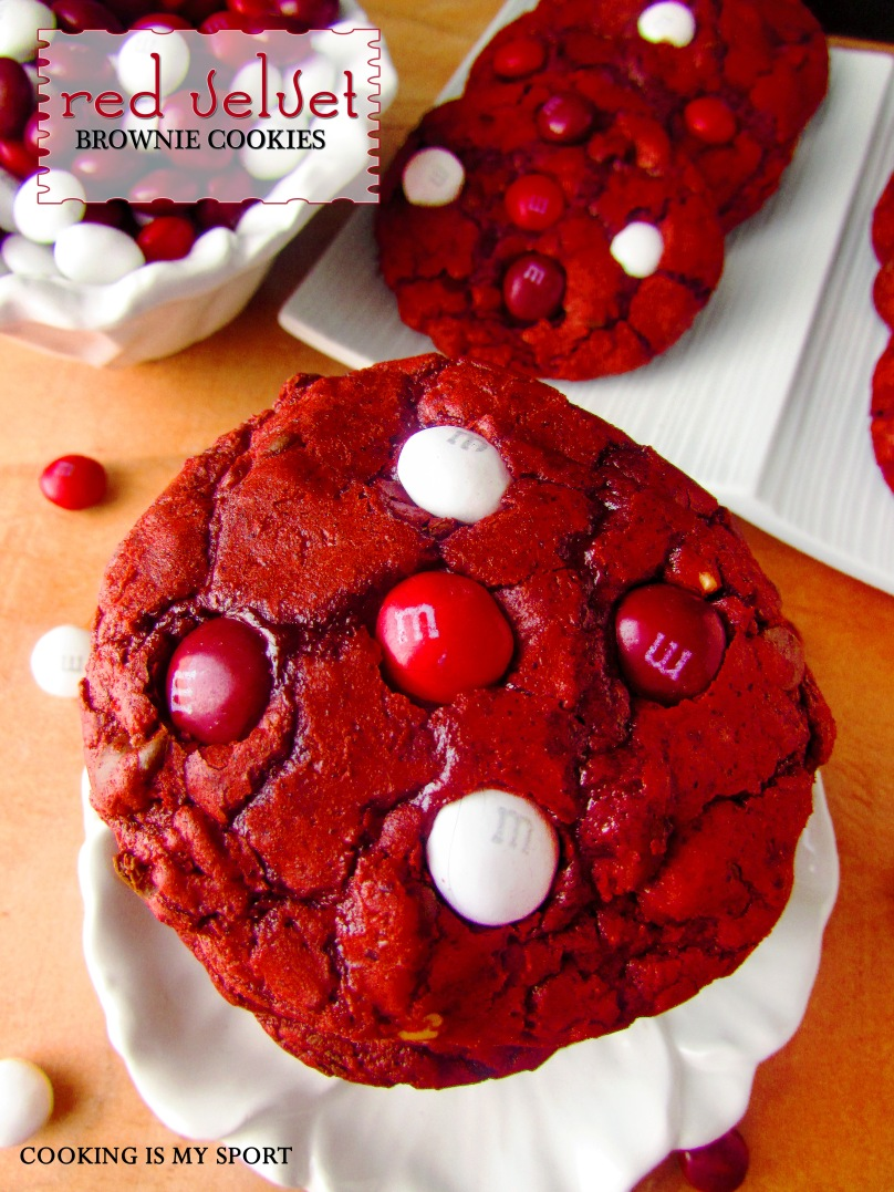 Red Velvet Brownie Cookies1