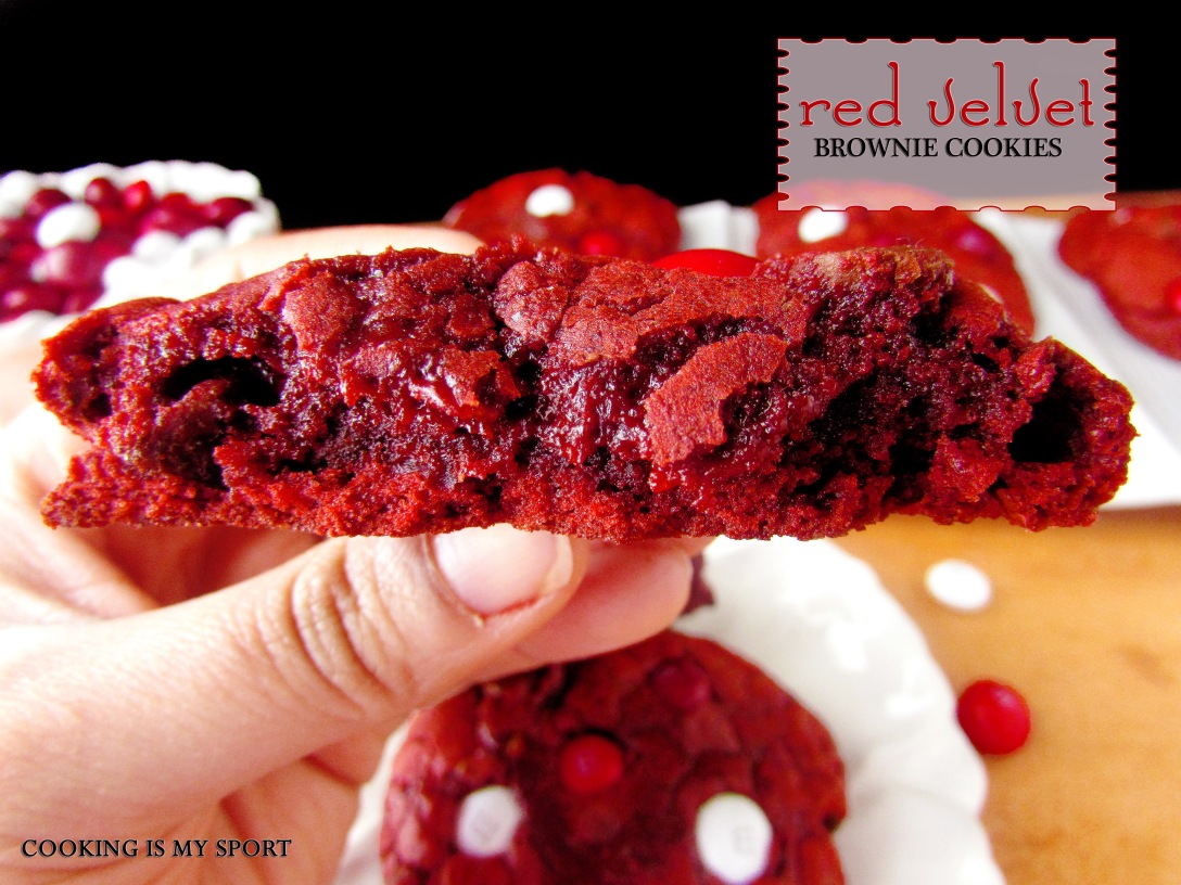 Red Velvet Brownie Cookies4