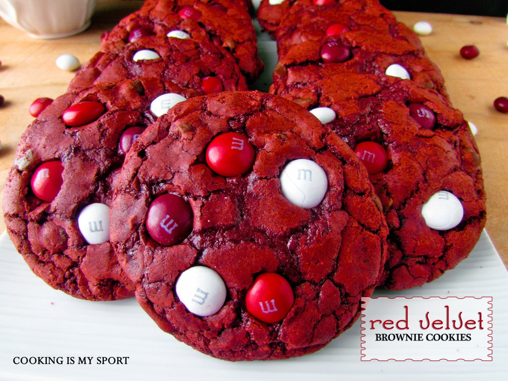 Red Velvet Brownie Cookies5