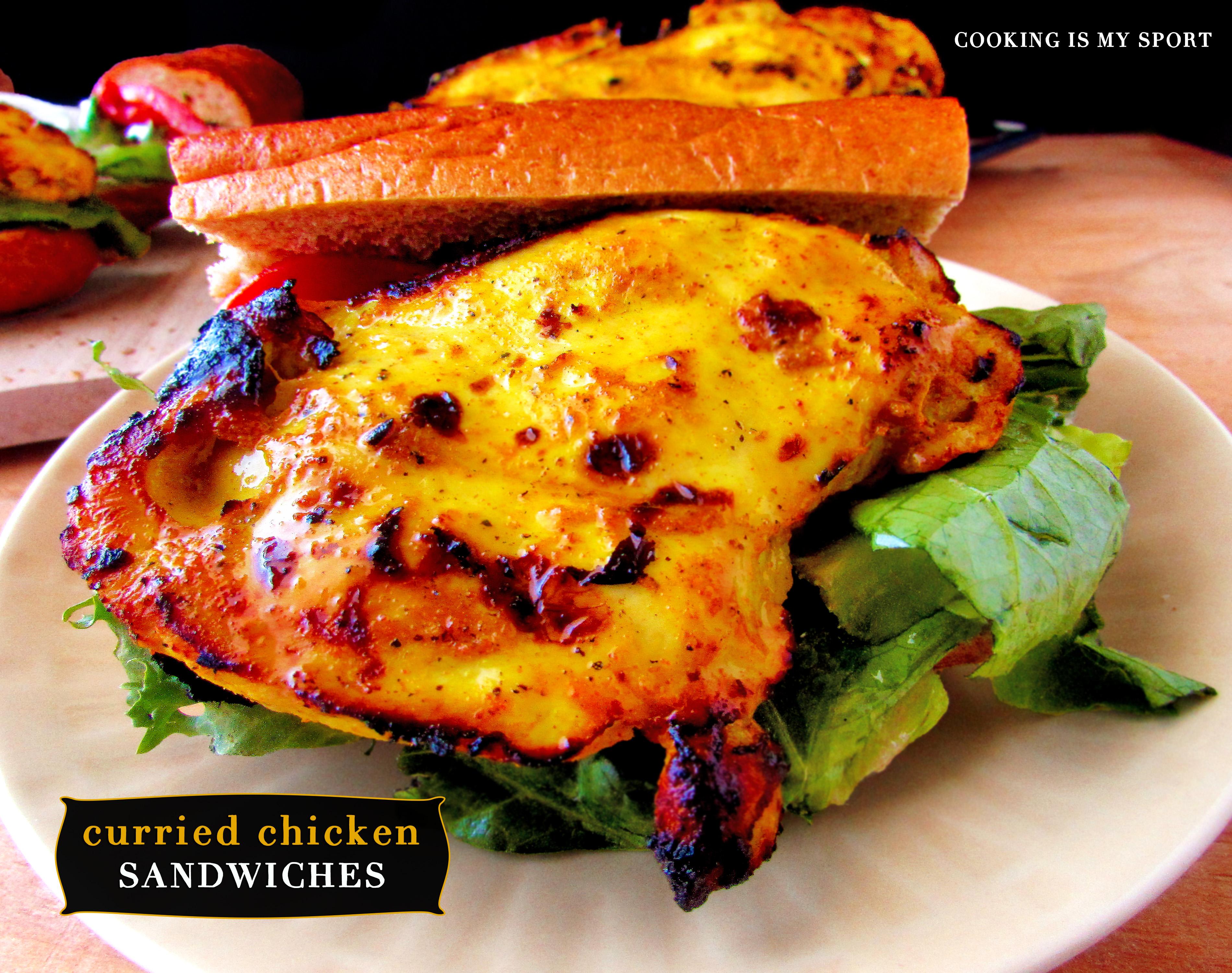Curried Chickeen Sandwich3