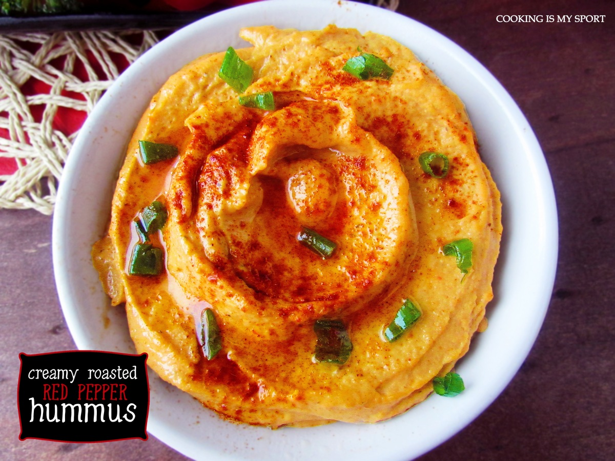 Roasted Red Pepper Hummus3