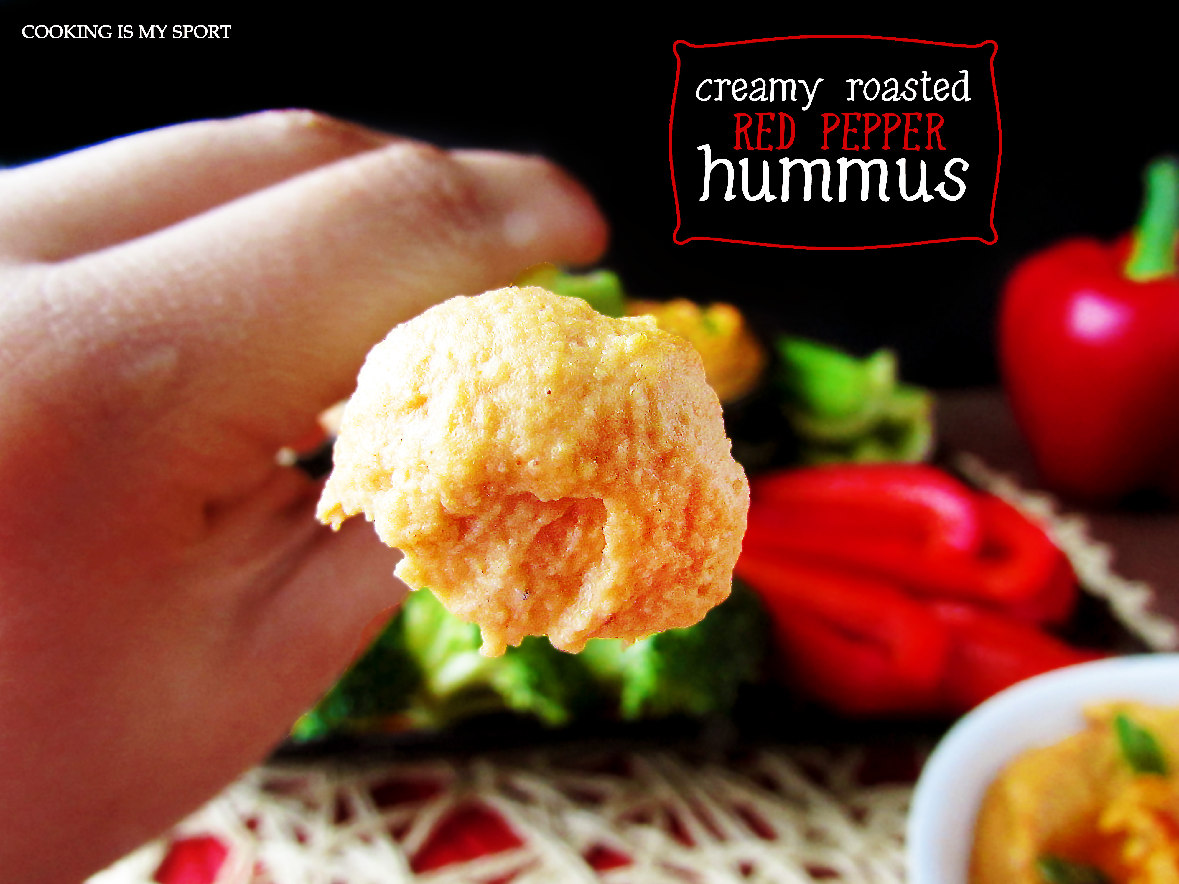 Roasted Red Pepper Hummus4