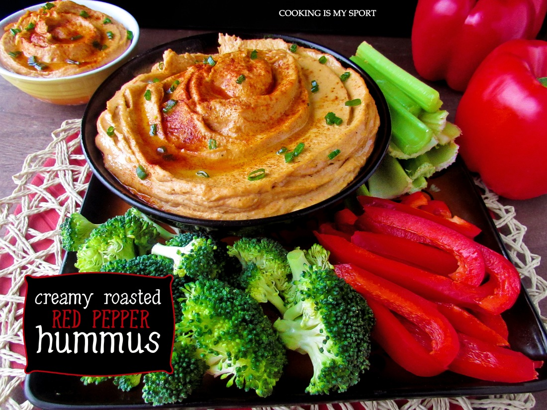 Roasted Red Pepper Hummus5