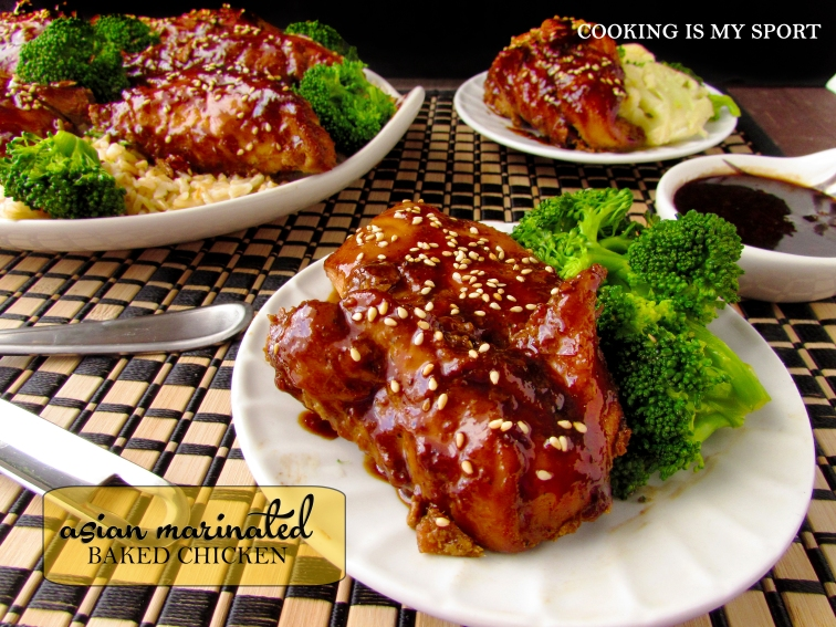 Asian Marinated Baked Chicken3