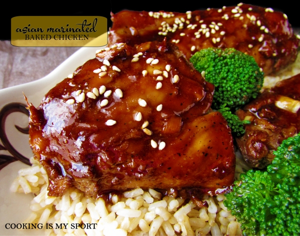 Asian Marinated Baked Chicken7