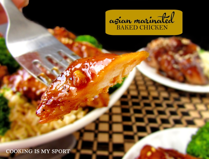 Asian Marinated Baked Chicken8