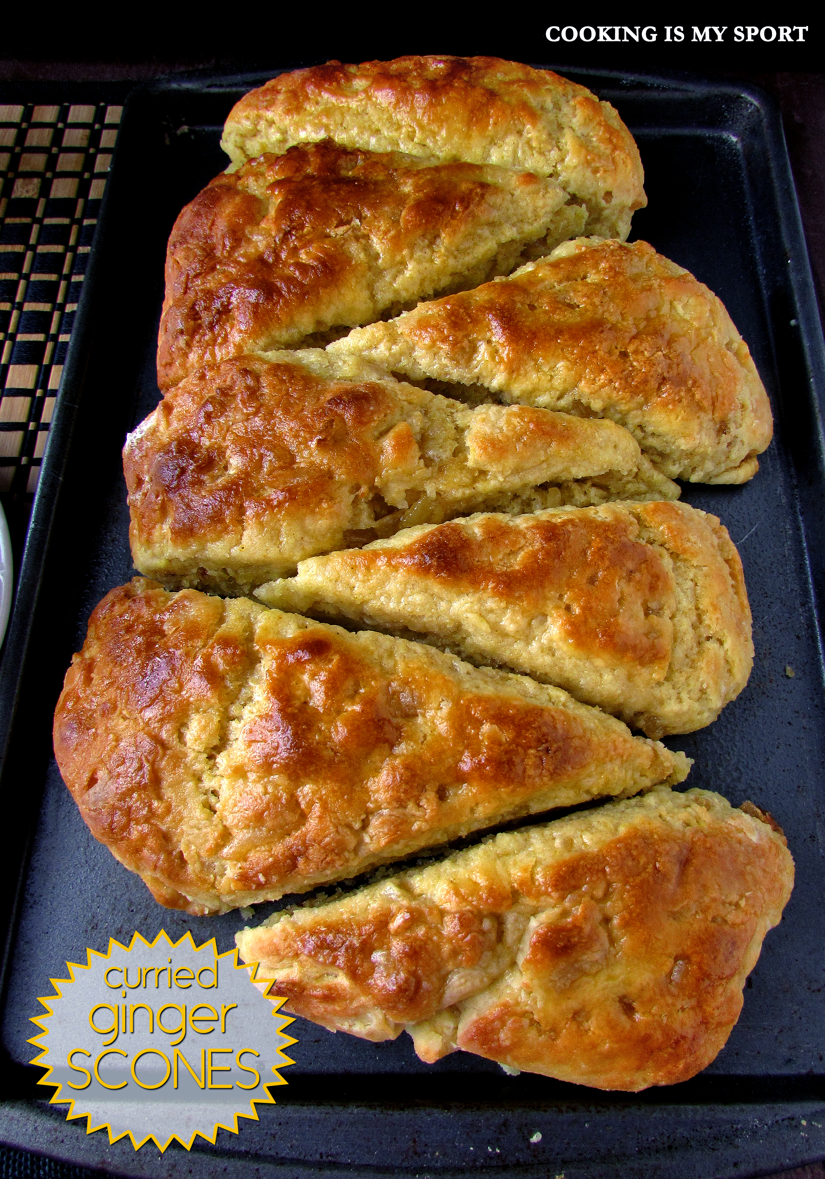 Curried Ginger Scones1