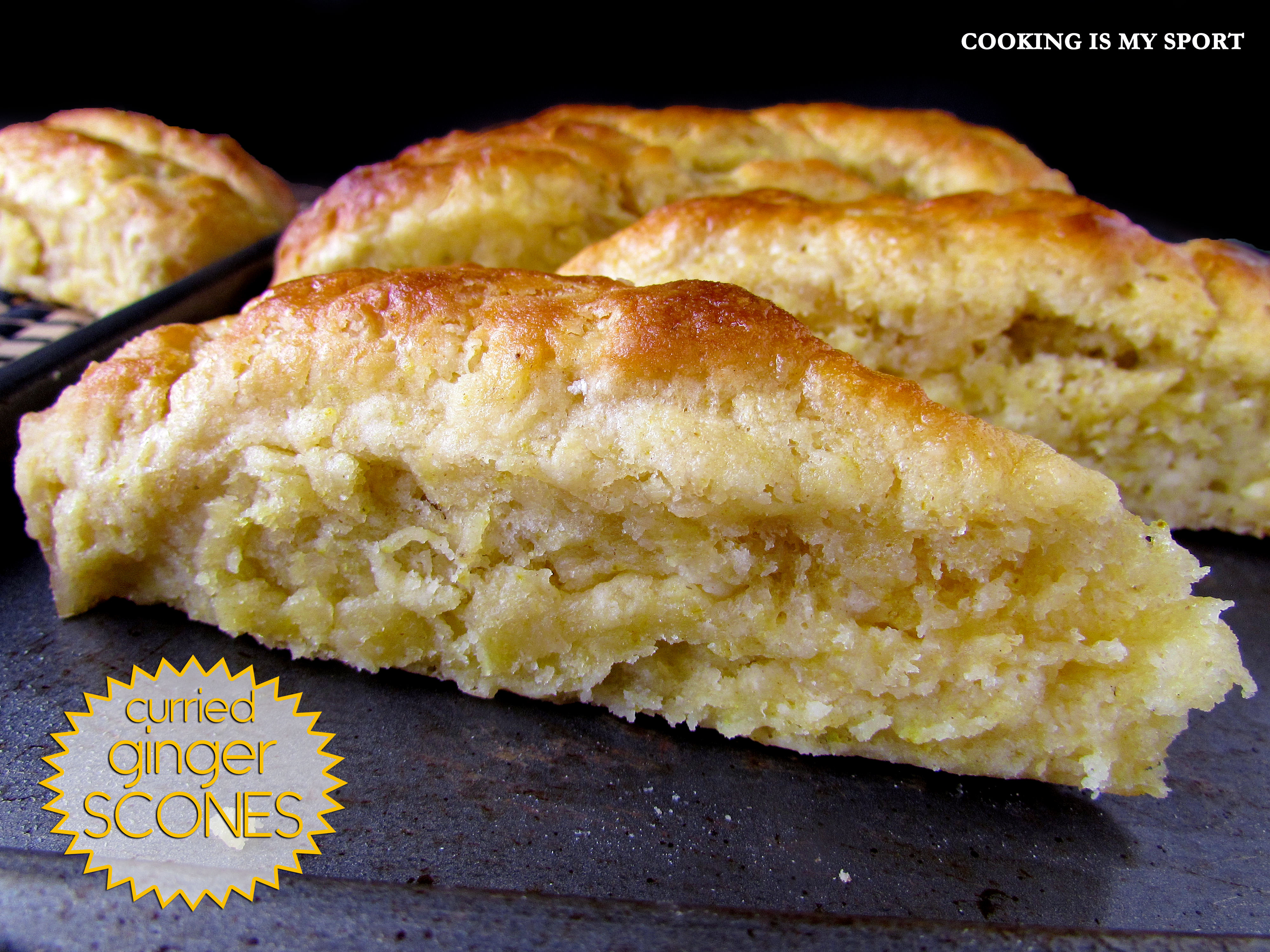 Curried Ginger Scones3