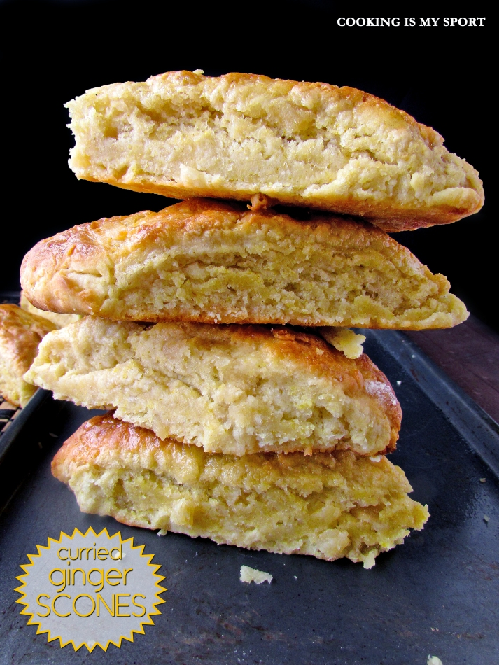 Curried Ginger Scones4
