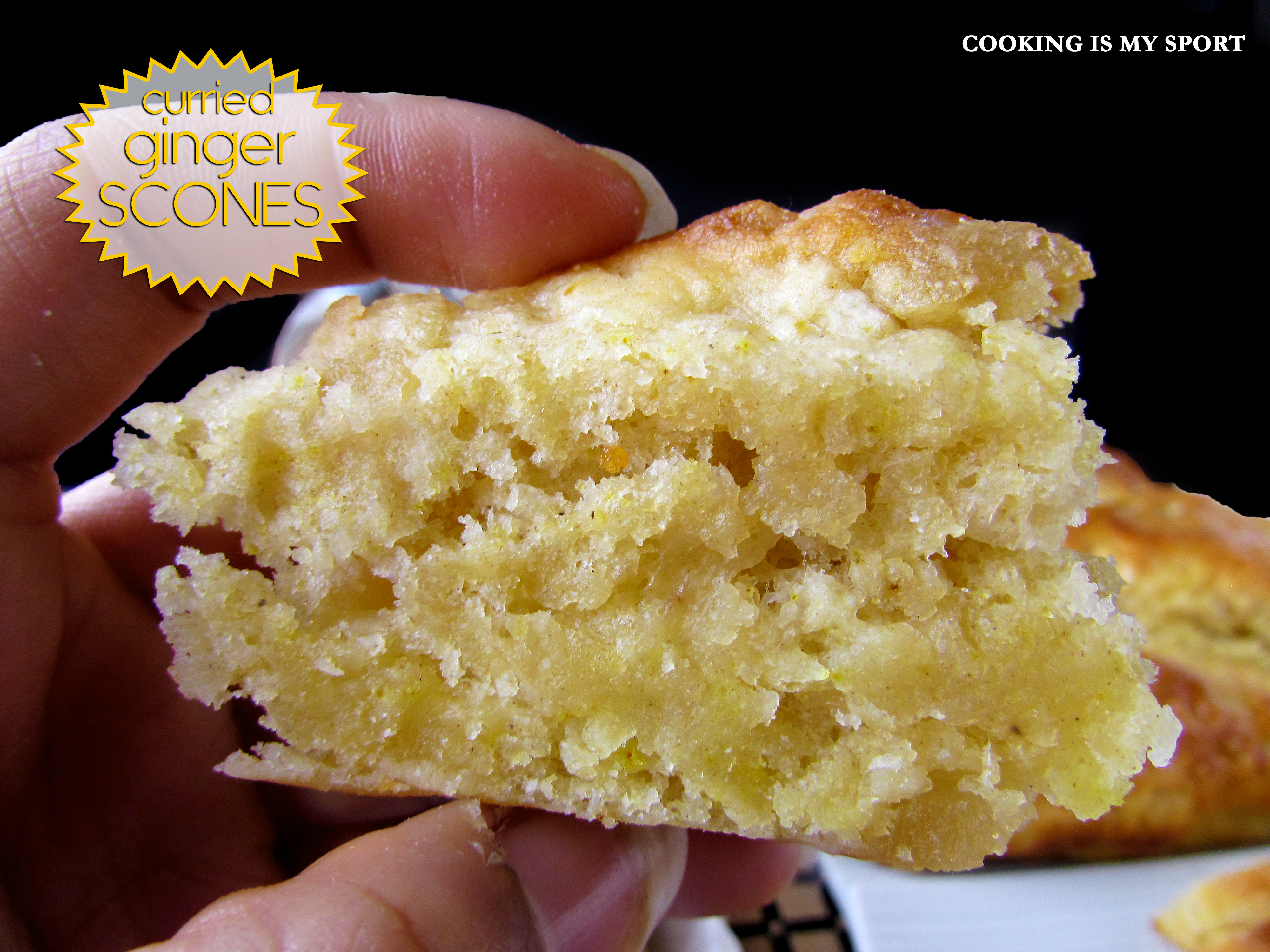 Curried Ginger Scones6