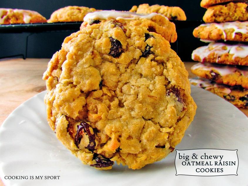 Oatmeal Raisin Cookies1
