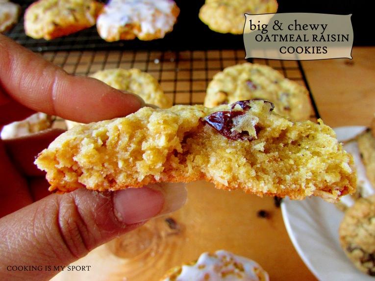Oatmeal Raisin Cookies3