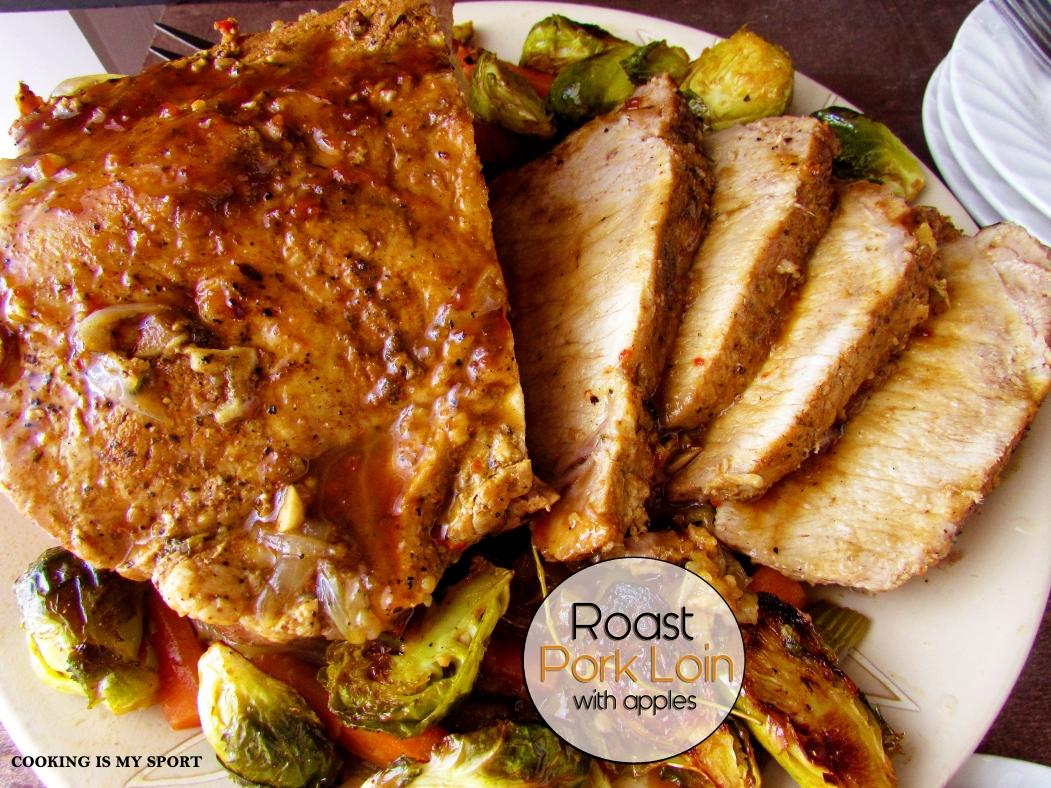Roast Pork Loin with Apples2